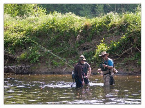 Fliegenfischen Kurs Fliessgewässer